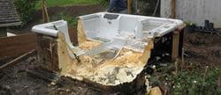 Hot Tub Removal Portland