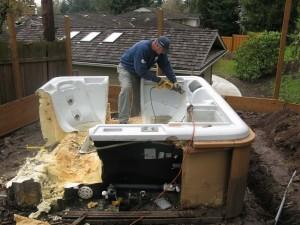 Hot Tub Removal Portland OR