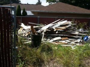 Yard Debris Removal Portland